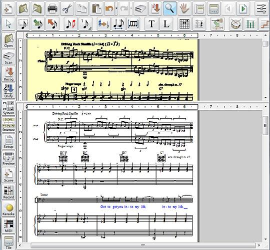 Musitek SmartScore: Songbook Edition